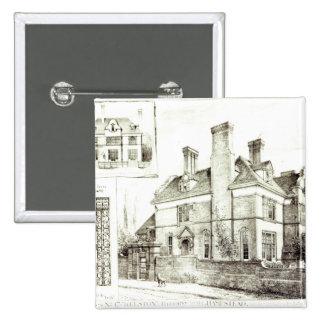 Kelston, St. John's Avenue 15 Cm Square Badge