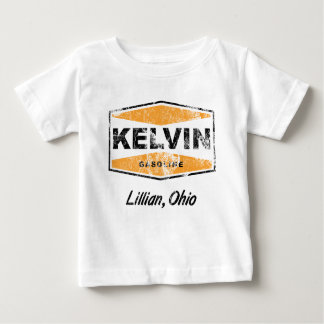 Kelvin Gasoline (Distressed) Baby T-Shirt