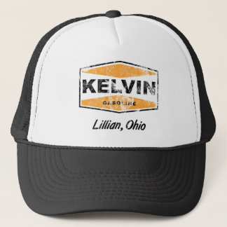 Kelvin Gasoline (Distressed) Trucker Hat