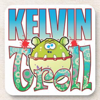 Kelvin Troll Drink Coaster