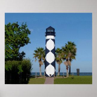 Kemah Lighthouse poster