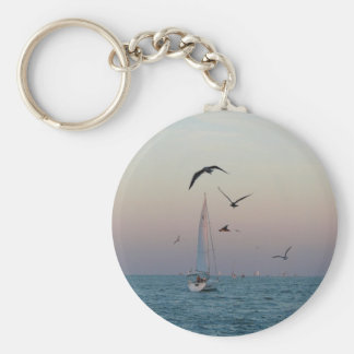 Kemah sailboat key chain