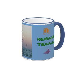Kemah sailboat mug - Customized
