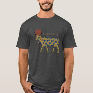Kemetic Grunge: Hethert-Nut, the Celestial Cow T-Shirt
