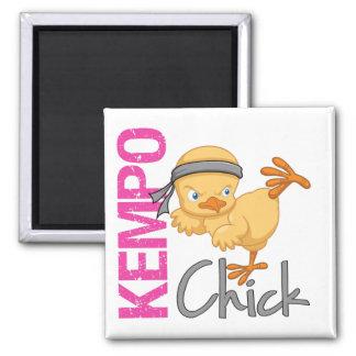 Kempo Chick Fridge Magnets