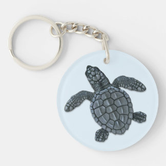 Kemp's Ridley Sea Turtle Hatchling Keychain