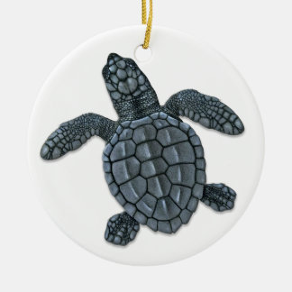 Kemp's Ridley Sea Turtle Hatchling Ornament