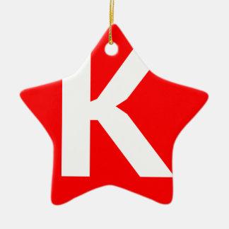 Ken Art Icon Christmas Ornament