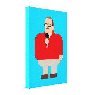 Ken Bone Zone: Wrapped Canvas Print