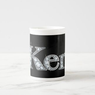 "Ken ""Diamond Bling"" Bone China Mug"