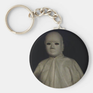 Ken in a White Mask Keychain/Keyring
