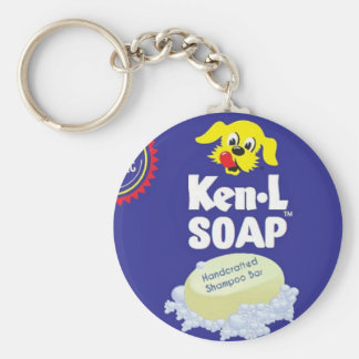 Ken L Soap On A Rope Retrobrands Basic Round Button Key Ring