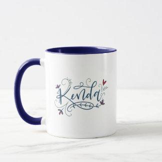 Kenda - Custom Lettering Order - Mug