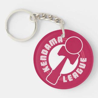 Kendama League Double-Sided Round Acrylic Keychain