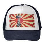 Kendama Wave Lighthouse with Vintage Japan Flag