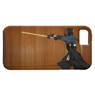 Kendo Fencer Practicing iPhone 5 Case