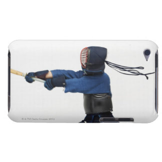 Kendo Fencer Practicing iPod Case-Mate Cases