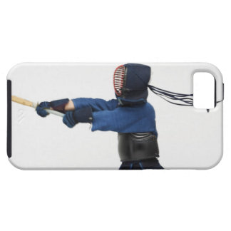 Kendo Fencer Practicing Tough iPhone 5 Case