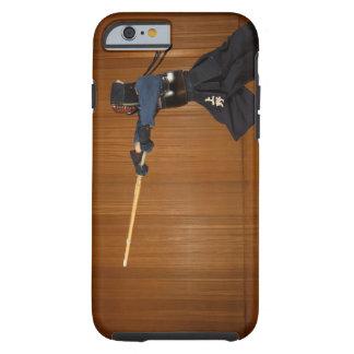 Kendo Fencer Practicing Tough iPhone 6 Case