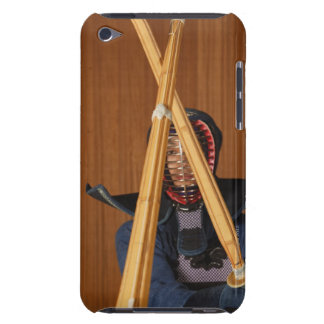Kendo Fencer Sparring iPod Touch Case-Mate Case