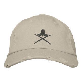 kendo shinai embroidered baseball caps