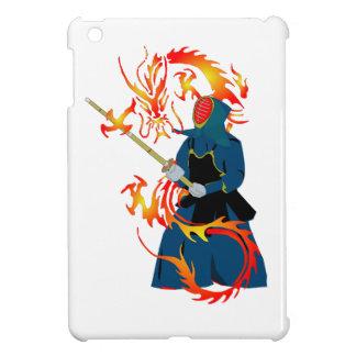 Kendo Swordsman and Fire Dragon iPad Mini Covers