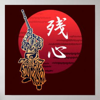 Kendo zanshin poster