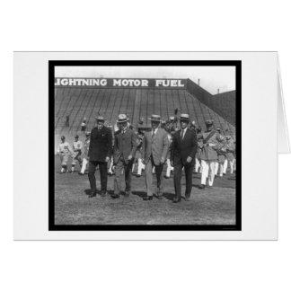 Kenesaw Landis Parade Baseball 1925 Card