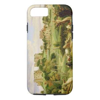 Kenilworth Castle, Warwickshire, 1840 (oil on pane iPhone 7 Case
