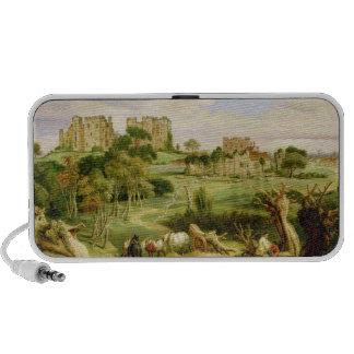 Kenilworth Castle, Warwickshire, 1840 (oil on pane iPhone Speaker