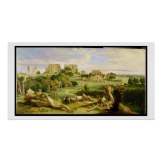 Kenilworth Castle, Warwickshire, 1840 (oil on pane Poster