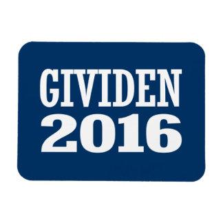 Kenn Gividen 2016 Rectangular Photo Magnet