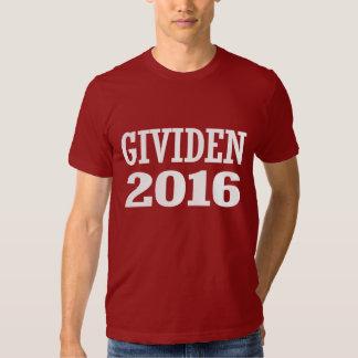 Kenn Gividen 2016 Tee Shirt