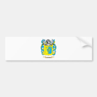 Kenna Coat of Arms Family Crest Bumper Stickers