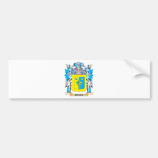 Kenna Coat of Arms - Family Crest Bumper Stickers