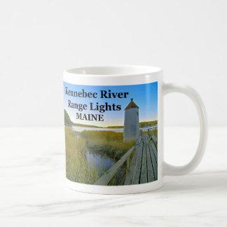 Kennebec River Range Lights, Maine Mug