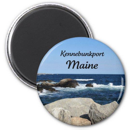 Kennebunkport, Maine 6 Cm Round Magnet