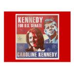 Kennedy Begins Campaign For Senate Postcard