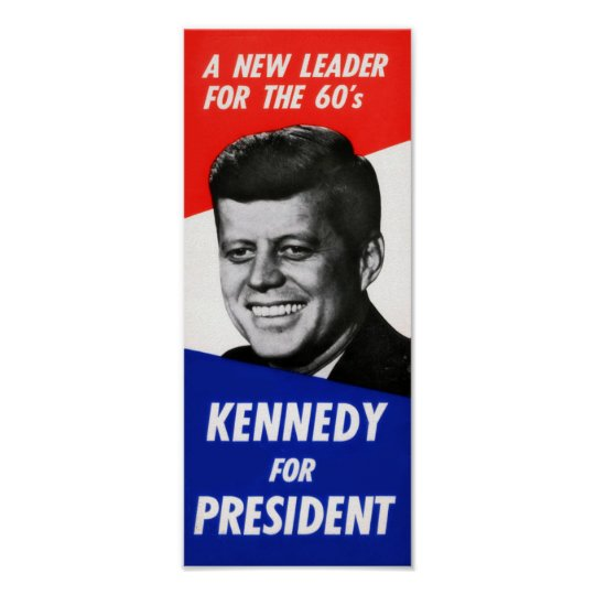 Kennedy Campaign Poster
