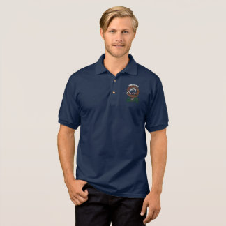 Kennedy Clan Badge Adult Polo Shirt