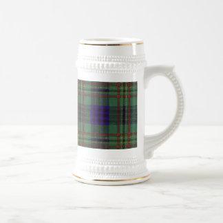 Kennedy clan Plaid Scottish tartan Beer Steins