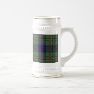 Kennedy clan Plaid Scottish tartan Beer Steins