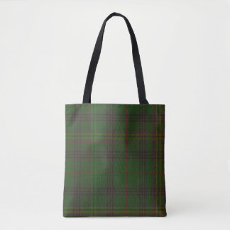 Kennedy Clan Tartan Tote Bag