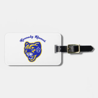 Kennedy Cougars Alumni Luggage Tag
