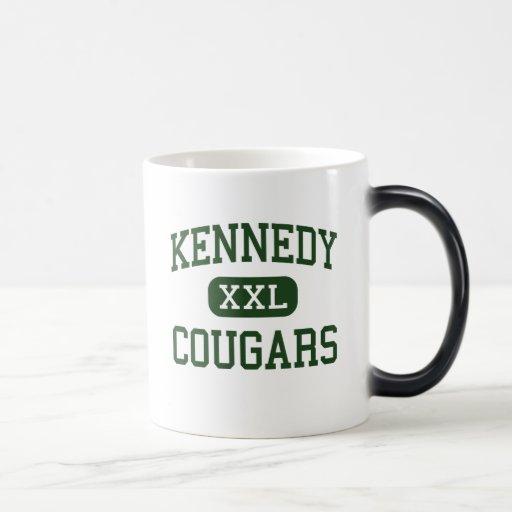 Kennedy - Cougars - High - Cedar Rapids Iowa Mug