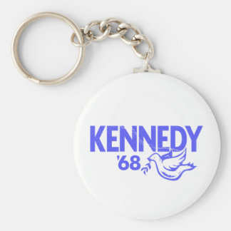 Kennedy Dove 68 Basic Round Button Key Ring