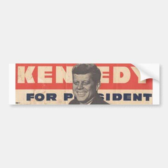 Kennedy for Presdient Bumper Sticker
