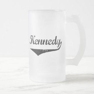 Kennedy Frosted Glass Mug