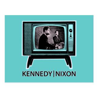 Kennedy Nixon Debate 1960 Post Cards