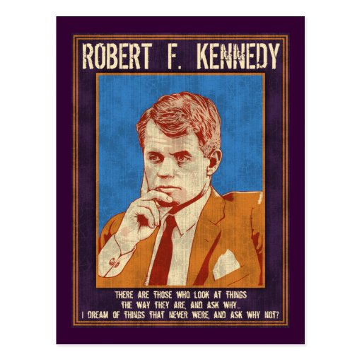 """Kennedy, Robert - """"Why Not?"""" Postcards"""